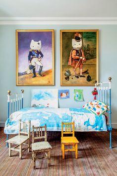 Um criativo apartamento em Paris