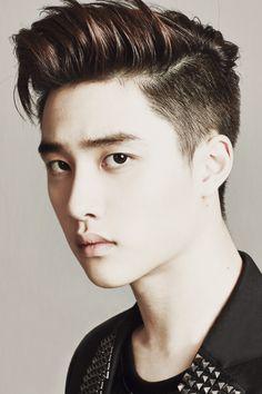 D.O Kyungsoo, you squishy little handsome Korean man.