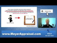 Must An Appraiser Provide An Appraisal Copy To A New Second Lender - http://youtu.be/uGOhHQlYW6c