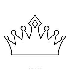 coroa Coloring Page