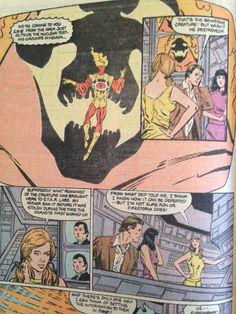 Felicity Smoak 24th appearance Fury of Firestorm #76: Heart Of Fire. #Arrow #Olicity