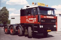 DAF FTD 3600 Ati 8x4 zwaar transporttrekker van Van Seumeren in De Meern