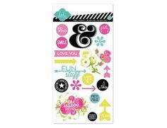 Clear happy day stickers « Heidi Swapp