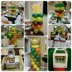 Lion King Baby Shower Party Ideas