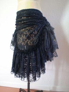 Ruffle/ bustle skirt | Bustle skirts