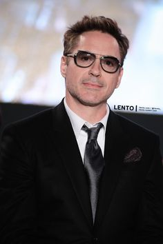 Robert Downey Jr. at the premiere of 'Avengers: Age of Ultron' in Seoul on April 17, 2015