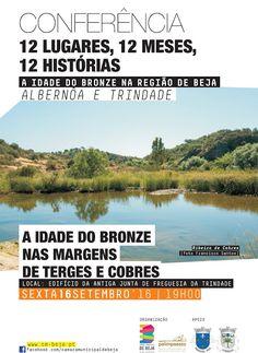 """Outeiro do Circo: Conferência """"A Idade do Bronze nas margens de Terg..."""