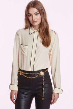 Vintage Chanel Colette Silk Blouse | Shop Vintage at Nasty Gal!
