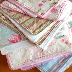 Create a one of a kind design with the Cotton Percale Receiving Blanket by Elizabeth Allen Atelier.  Available in tons of fabric options making this the perfect item for gift giving!