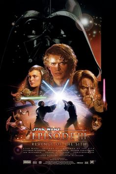 Poster art for Star Wars: Episode III Revenge of the Sith.