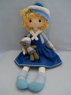Navy Doll Sailor girl