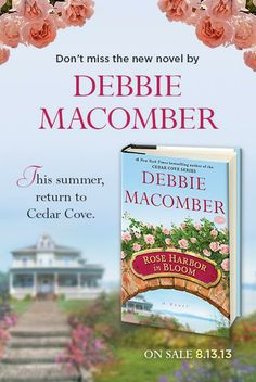 Rose Harbor in Bloom, available August 13th, 2013