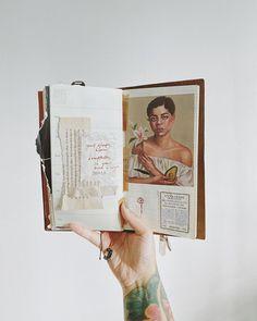 My Journal, Travelers Notebook, Polaroid Film, Bloom, Beauty, Instagram, Art, Art Background, Kunst