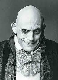 Christopher Lloyd as Uncle Fester from the Addams Family film 1991