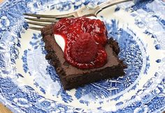 Healthy Desserts, Healthy Recipes, Healthy Food, Blondies, Vegan Vegetarian, Tiramisu, Sugar Free, Food To Make, Healthy Lifestyle