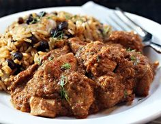 Slow Cooker Chicken in Peanut and Chile Sauce from The Perfect Pantry via Slow Cooker from Scratch