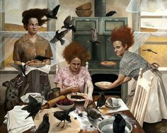 Beauty and Madness in Rural America: The Art of Andrea Kowch