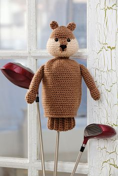 Ravelry: Gopher Golf Club Cover pattern by Nancy Anderson
