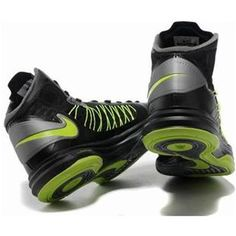www.asneakers4u.com Nike Lunar Hyperdunk X 2012 Women Shoes Black/Green