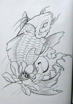 Desenhos de Carpas Facebook: Leandro Carlos Tattoo  Instagram: Leandro_Carlos_Tattoo #LeandroCarlosTattoo #Ideiascarpas