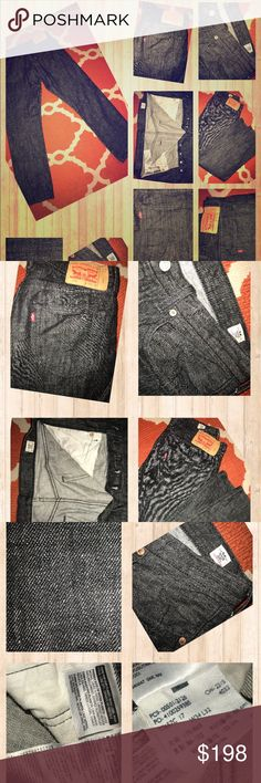 NWOT LEVI'S 501 RED TAB 34x32 WHITE OAK CONE DENIM NWOT LEVI'S 501 RED TAB 34x32 MADE FROM WHITE OAK CONE DENIM Levi's Jeans Straight