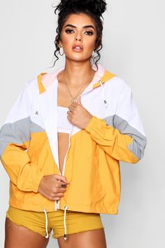 d2905fa4724 Click here to find out about the Katie Hooded Panelled Windbreaker from  Boohoo