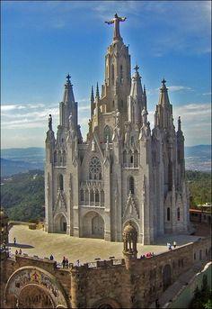 Tibidabo Church - Barcelona, Spain