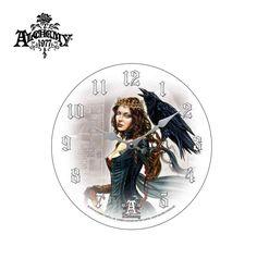 Dark Raven Fantasy Clock