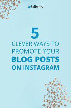 5 Clever Ways to Promote Your Blog Posts on Instagram - Puzzling over how to turn Instagram followers into blog traffic? We have the fix! These five methods will have your blog traffic booming in no time. #InstagramTips #BloggingTips #BlogTraffic #InstagramBlog Facebook Marketing, Social Media Marketing, Digital Marketing, Marketing Calendar, Content Marketing, Internet Marketing, Instagram Marketing Tips, Instagram Tips, Blog Topics