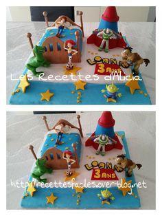 Gateau Toy Story pate à sucre