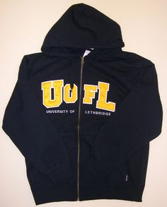 U of L hoodie.  Maybe not zip up though. I like this style with the blue and yellow.