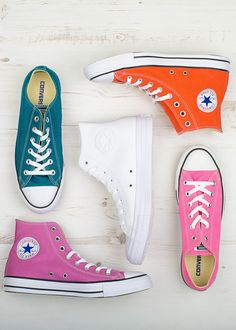 #Converse hi and lo tops in a range of colours. UK Sizes 8 to 12 www.lohoshoes.com