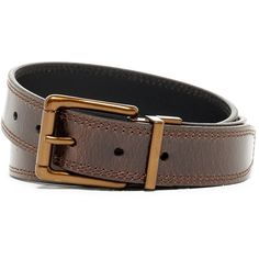 Timberland Double Stitched Reversible Leather Belt ($20) ❤ liked on Polyvore featuring men's fashion, men's accessories, men's belts, men's reversible belt, mens leather belts, mens leather accessories, mens genuine leather belts and mens reversible leather belt