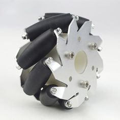 Inch) Mecanum Wheel Right/Bearing Rollers The Mecanum wheel is one design for a wheel which can move in any direction. Mechanical Design, Mechanical Engineering, Mecanum Wheel, Diy Robot, Cool Inventions, One Design, Concept Cars, Gears, 3d Printing