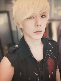 himchan from Korean pop group B.A.P