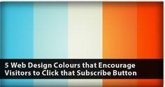 5 Web Design Colors That Encourage Visitors - Articles - DMXzone.COM