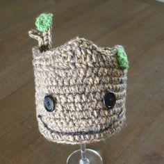 Baby Groot Crochet Hat! https://www.etsy.com/listing/248759034/handmade-crochet-groot-hat-guardians-of