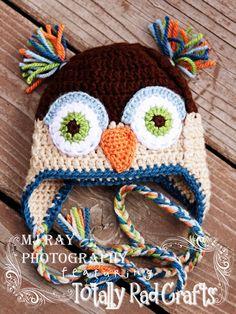 Infant Owl Hat
