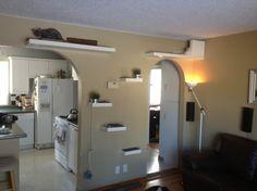 Ikea Lack cat shelves - Storage And Organization - Calgary - SW Renovations Inc