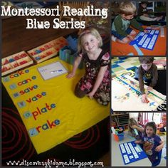 Teaching a child to read the Montessori way.  When did introduce reading to your child?