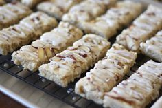 Barefeet In The Kitchen: Scandinavian Almond Bars - Gluten Free and Traditional recipes included