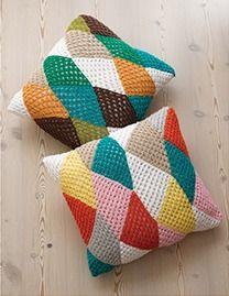 ¡Nada más suave que una cómoda almohada de crochet!