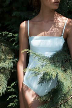 A look at Tuyen Nguyen and Michael Lim's new line of one-pieces and bikinis for their label, Her.