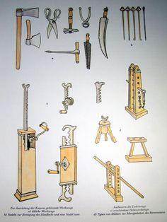 Ausrüstung der Geschütze