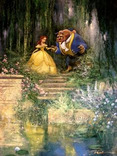 Eriksson Macey Beauty And The Beast Painting