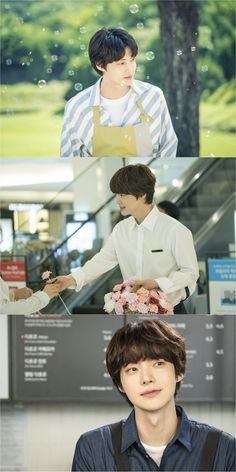 JTBC's upcoming Mon-Tues drama 'Beauty Inside' has released individual still cuts of the sweet priest candidate, Ahn Jae Hyun!In the drama, Ahn Jae Hy… Most Handsome Actors, Handsome Boys, Asian Actors, Korean Actors, Lee Bo Young, Bridal Mask, Korean Boys Ulzzang, Yoo Ah In, Weightlifting Fairy Kim Bok Joo