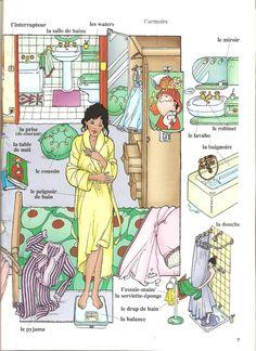 La salle de bains http://www.francaisfacile.com/exercices/exercice-francais-2/exercice-francais-47926.php