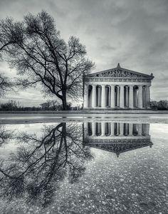 The Parthenon  At Centennial Park in Nashville TN