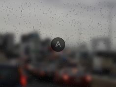 Water Drop Effect in HTML & CSS   Abduzeedo Design Inspiration Better save this for a rainy day... get it hahaha