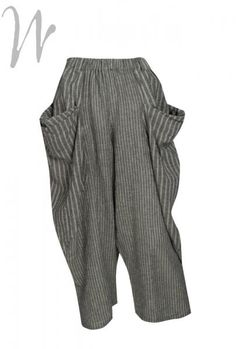Moyuru Stripe trouser 151503 mo4004